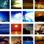 50*50ピクセルの空の写真(251個)