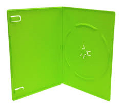 14mm DVD CASE GREEN
