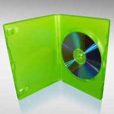 GREEN X BOX REPLACEMENT DVD CASE