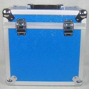 BLUE LP 50 LP HOLDER STORAGE BOX