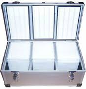 Neo Media 800 cd dvd aluminium storage case