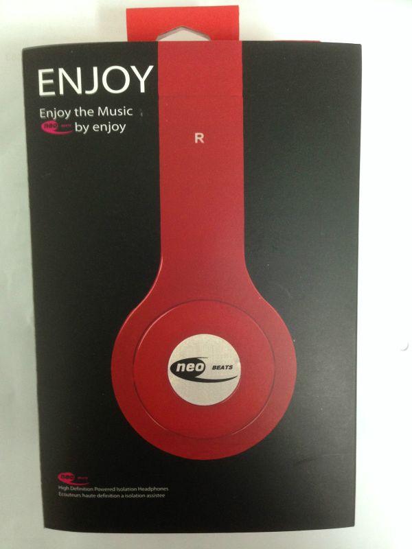 foldable headphones neo beats bass