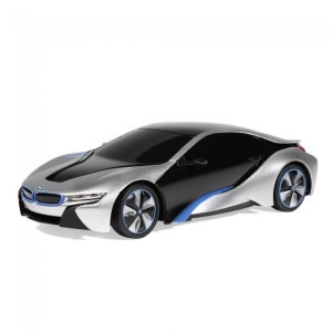 bmw i8 white rc 1:24 rastar