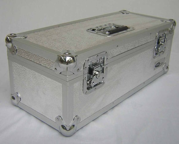 "300 CAPACITY 7"" SINGLES STORAGE BOX ALUMINIUM FLIGHT CASE"