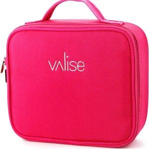 pink valise case