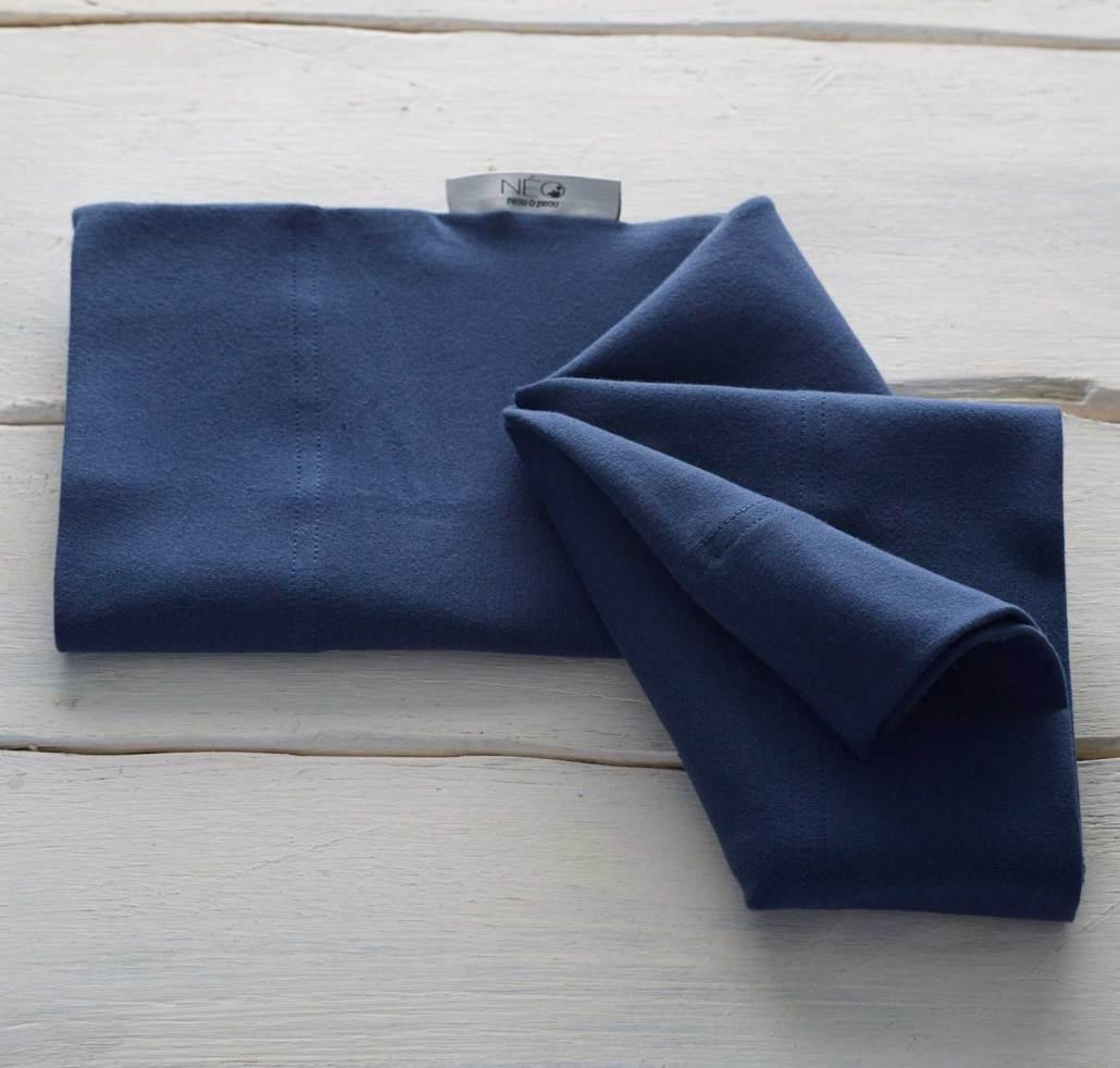 Neo Newborn Baby Wrap Dark Blue Neo Peau A Peau Kangaroo Method