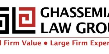 Ghassemian Law Group logo_ Neo Design Concepts Print Marketing Graphic Design