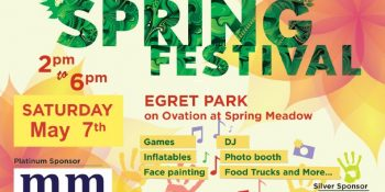 Michael Mei Real Estate Stonegate Community Spring Festival Banner_ Neo Design Concepts Print Marketing Graphic Design