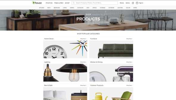 Houzz-shop