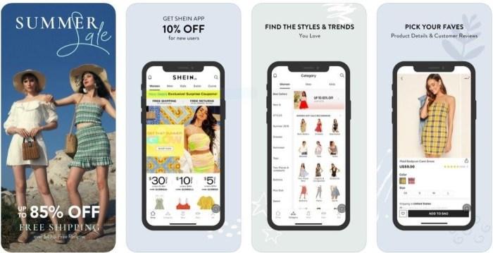 Shein App iOS