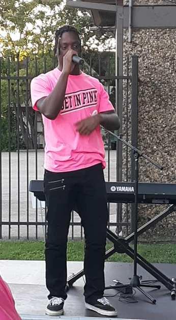 AJ Chaka at The Pink Project Dallas