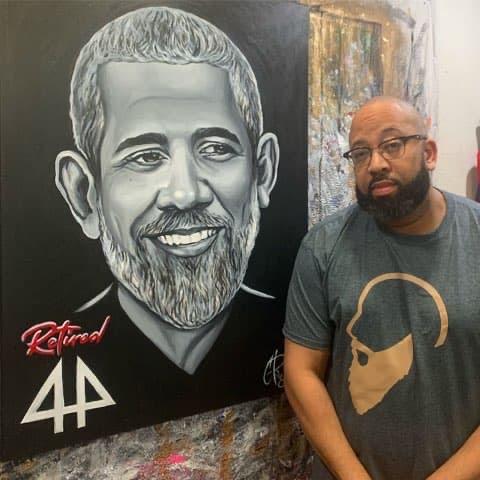 Retired (Barack Obama) by C. Ray