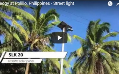 Neogy at Polillo, Philippines – Street light