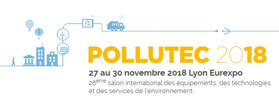 affiche salon pollutec 2018