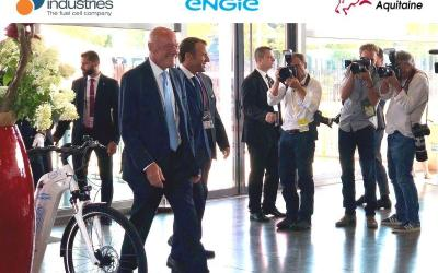 The Alpha bikes under the spotlight in G7