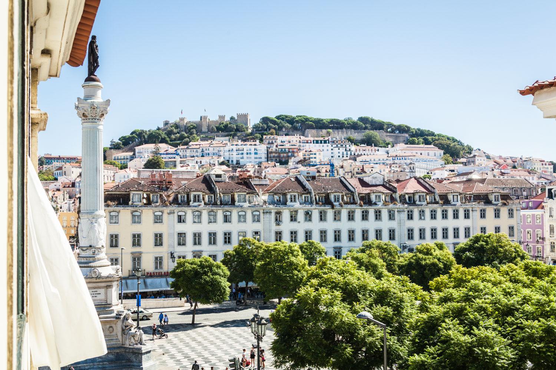 Praça de D. Pedro IV / Rossio, Lissabon. Foto: Neoheimat