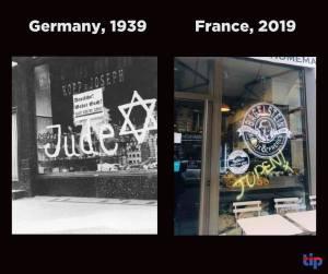 Sokkolja a francia elitet az antiszemita incidensek ugrásszerű növekedése