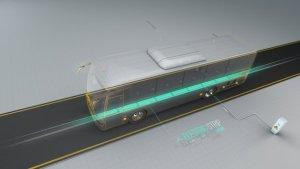A föld alól is kap áramot egy új izraeli elektromos busz