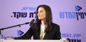 Ajelet Saked szerint Netanjahu lepaktálhat a baloldallal a vallásos cionisták rovására