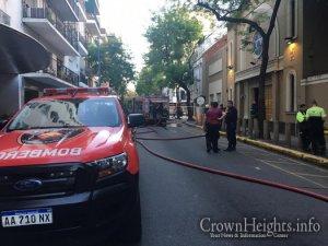 Leégett egy Buenos Aires-i Chábád zsinagóga