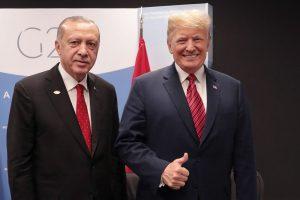 Washingtonba érkezett Erdogán