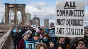 25 ezren meneteltek Brooklynban az antiszemitizmus ellen