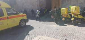 Rálőttek egy izraeli rendőrre Jeruzsálem óvárosában, a merénylőt agyonlőtték