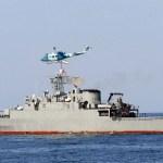 Irán véletlenül kilőtte saját hadihajóját