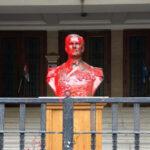 Elkapták a Horthy-szobrot megrongáló elkövetőt