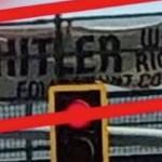 """""""Hitlernek igaza volt"""" — letartóztatták a botrányos transzparens kifüggesztőit Arizonában"""