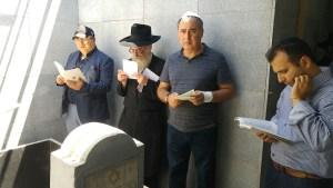 Örökségi listán a Rebbe édesapjának nyughelye