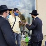 Botlatókő emlékeztet a debreceni haszid zsinagóga alapítóira