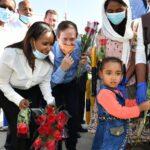 Több száz új etióp bevándorló érkezett Izraelbe
