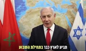 Netanjahu térképe bosszantotta fel a marokkóiakat