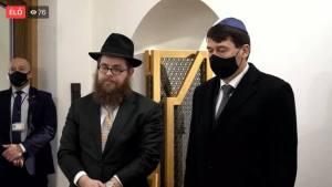 Videó: Áder János a budavári imaházban emlékezett meg a holokauszt áldozatairól