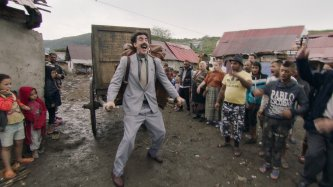 Sacha Baron Cohen a Borat című film második részében