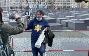 Németország nem engedélyezné a világjárvány elleni zárlatok ellen való tiltakozásul a sárga csillag viselését