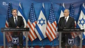 Blinken: úgy támogatná a Gázai övezet újjáépítését, hogy abból a Hámásznak nem jutna