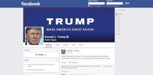 A Facebook 2023-ig felfüggesztette Trump fiókját