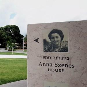 Megnyitották Szenes Hanna emlékházát
