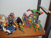 Prince Xizor x Darth Vader, Gi-Joe, Tortugas Ninja con helicóptero, VR Trooper