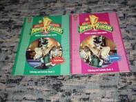 Libros para colorear y actividades Power Rangers