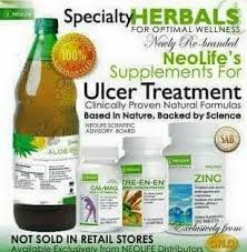 Neolife Supplement For Ulcer Treatment