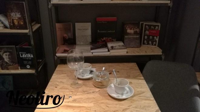 Egy rejtett sarok a Magvető Café egyik sarkában.