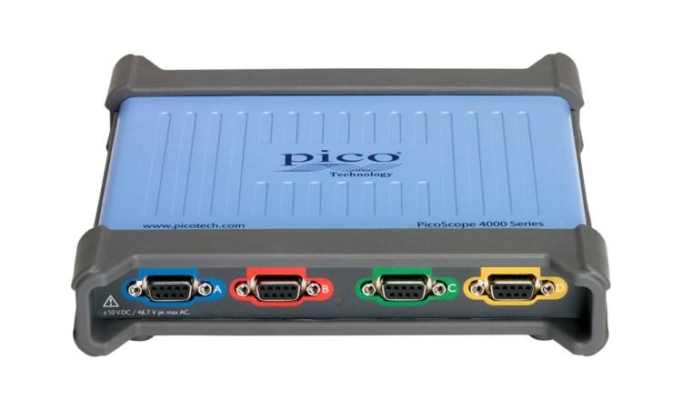 PicoScope 4444 4 voies différentielles 20 MHz