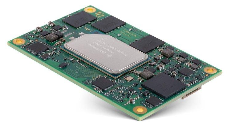 Module COM express 10 à Base Atom x6000