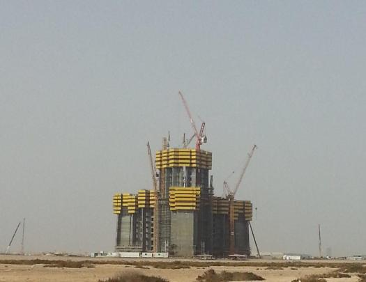 jeddah tower Building Progress