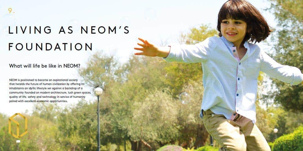 NEOM's Nine Key Sectors Will Change the World 9