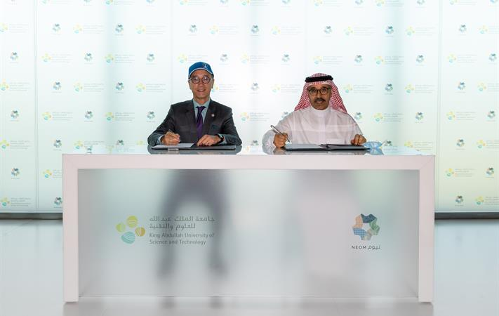 NEOM and (KAUST) announced Shushah Island Coral Reefscape
