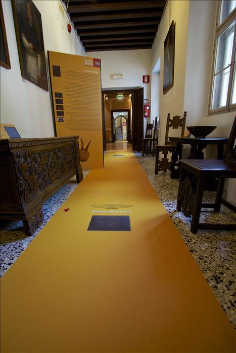 stamap da pavimento removibile